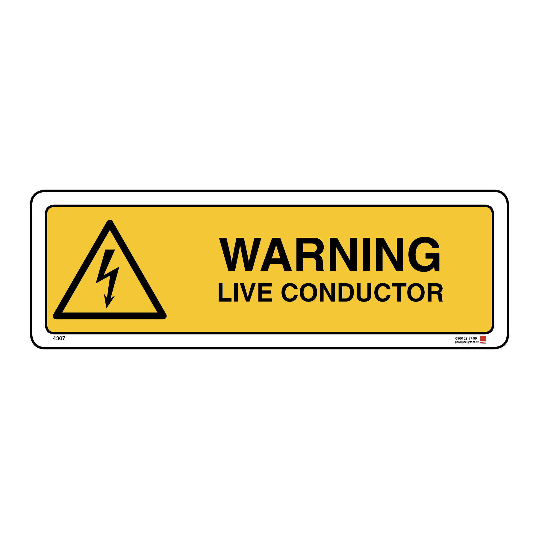 Warning Live Conductor