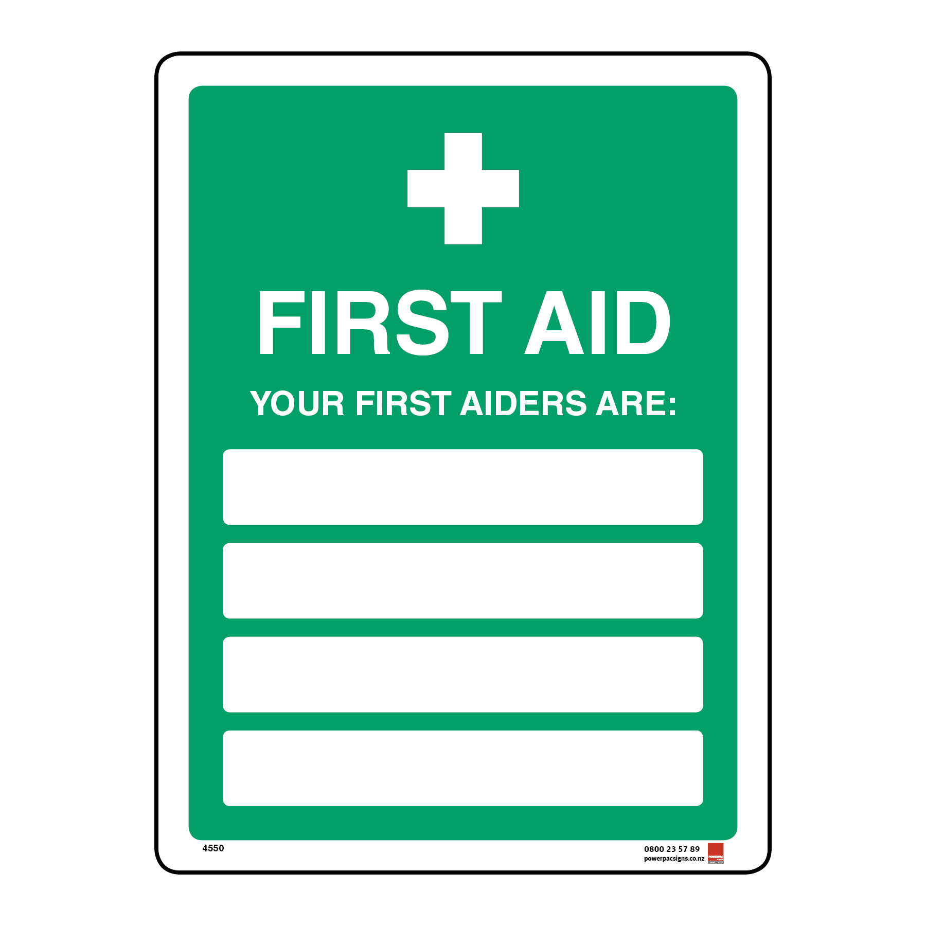 First Aid Your First Aiders Are